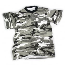 T-shirt Camouflage - Urban Camouflage - USA