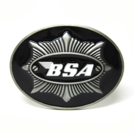 BSA - Belt Buckle - Black & Gun-metal-grey