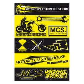 MOTORCYCLE STOREHOUSE, STICK SHEET A5