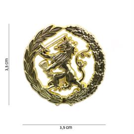 Pin - Dutch Lion - Military - Gold