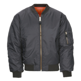 MA-1 Bomber Jacket - Gun Metal Grey