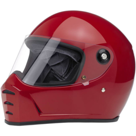 Biltwell - Lane Splitter Helmet - Gloss Blood Red (DOT)
