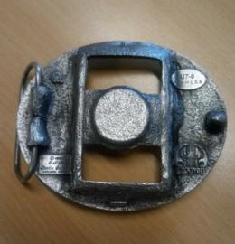 Belt Buckle - Lighter Holder - Indian Faces