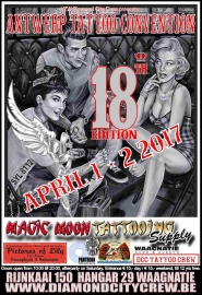 x 2017/04, 01-02 april - Diamond City TattooCon - Antwerpen BE