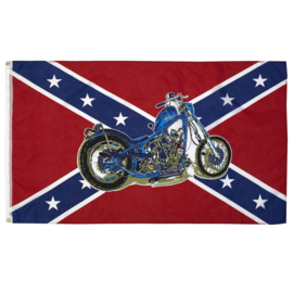 Vlag - Rebel Chopper flag