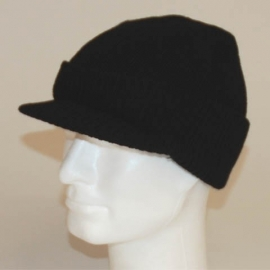 Army Jeep Cap - Black Acryl