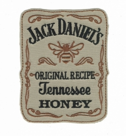 009 - Patch - Jack Daniels 12x9cm Tennessee Whiskey Honey - square