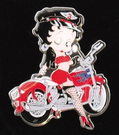 P105 - Pin - Betty Boop - Biker
