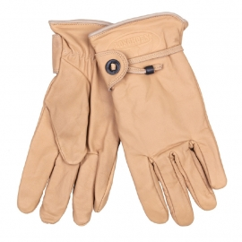 Gloves - Longhorn - Rodeo/Biker Gloves - Natural - Light