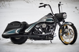 """HARLEY-DAVIDSON HARD BAGS EXTENSIONS 4"""" CVO STYLE 96-13"""
