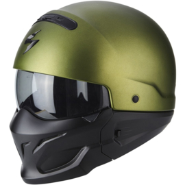Scorpion Exo-Combat Helmet Matt Green - (streetlegal)