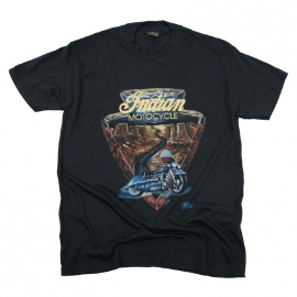 INDIAN MOTORCYCLES - Cotton T-shirt - Vintage (new)