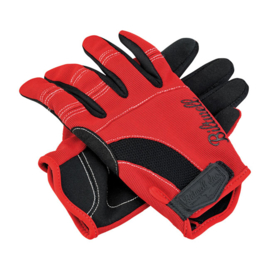 Biltwell INC - Moto Gloves - Red/Black/White