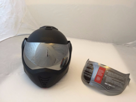 Roofer - B702 REVERSE - MIRROR SMOKE VISOR (visor only!)