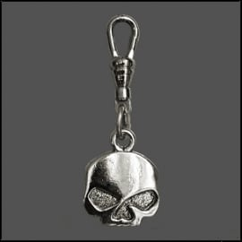 Zipper Pull - Willie G Skull