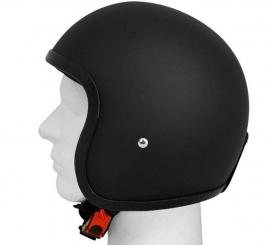 Indy-500 - Lightweight helmet - Fiberglass - Flat Black