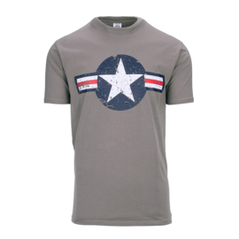 T-shirt Vintage USA -WWII Air Force - Combat Gray