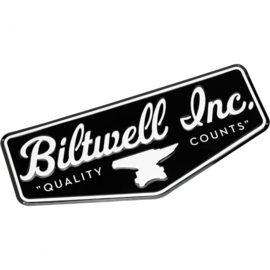 Biltwell Shop Sign - Metal - LARGE!