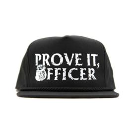 Rusty Butcher - Snapback Cap - Prove it, Officer!