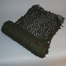 Camouflage Net - 78 meters on a roll, 2,4 meters wide - Woodland
