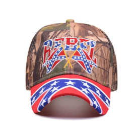 Baseball Cap - Rebel Flags - Southern Style Rebel Flag