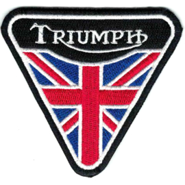 PATCH - triangle -  Union Jack - TRIUMPH