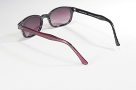 Sunglasses - Classic KD's - Purple Pearl Frame & Grey Gradient Lens