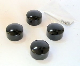 HEAD BOLT COVER KIT - BLACK