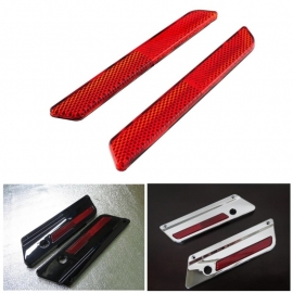 RED Reflectors for all Touring, Baggers, Road King a.o. USA models