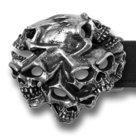 Belt Buckle - Alchemy - Gestalt Skulls - collector item!