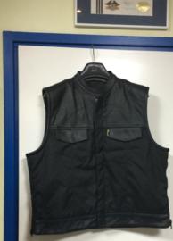 Para-Aramid & Cordura Vest - Cut Off - High Grade Leather