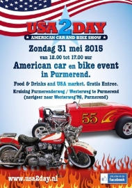 x 2015/05, 31 may - USA2DAY Purmerend - Car & Bike Show - GRATIS!