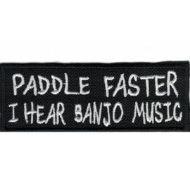 Patch - Deliverance - PADDLE FASTER I hear banjo music