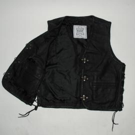 Leather Vest - X-treme Biker - Fostex