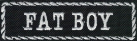 295 - PATCH - Flash / Stick with rope design - FAT BOY