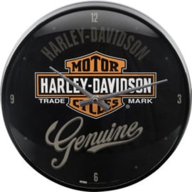 Harley-Davidson:  Genuine Biker Wall Clock