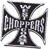155 - Patch - West Coast Choppers - Black