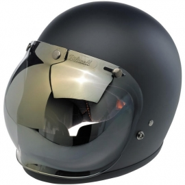 Biltwell Jet - Bubble Visor - Gold / Smoke Mirror [anti FOG]