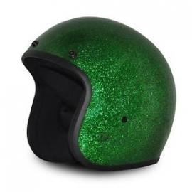 Indy-500 - Metalflake helmet - Fiberglass - Green