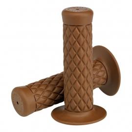 BILTWELL - THRUSTER GRIPS - CHOCOLATE