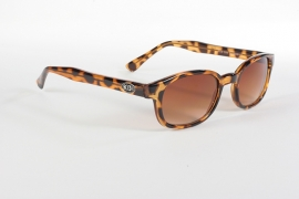 Sunglasses - Classic KD's - Tortoise Brown Fade / Gradient Lens