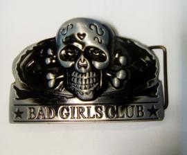 Belt Buckle - Bad Girls Club - Gun Metal