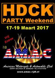Party HDCK - A.M.A.C. 17-19 maart 2017