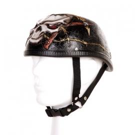 Braincap Helmet, 3D - Barbed Wire & Skull