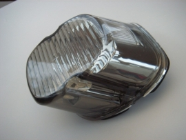 Harley-Davidson - Laydown Taillight Lens, SMOKE - TOP TAG WINDOW - 03-16
