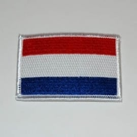 PATCH - Dutch Flag - Vlag Holland - the Netherlands - Nederland [small]
