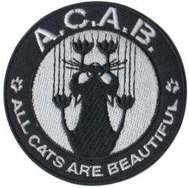 Patch - A.C.A.B. - ACAB - All Cats Are Beautiful