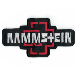 145 - PATCH - Rammstein logo - RED