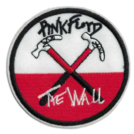 Round PATCH - PINKFLOYD - THE WALL - Crossed hammers