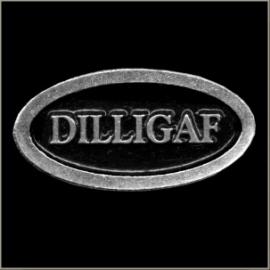 P206 - Pin - DILLIGAF (oval)